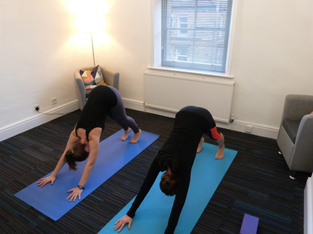 Yoga sessions for individuals at Victoria Therapy Centre in Shipley