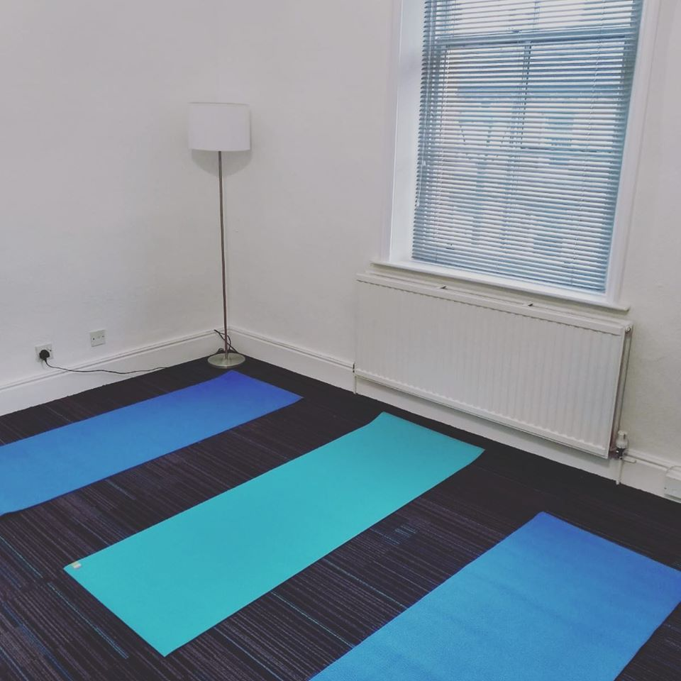 yoag and mindfulness room at Victoria Therapy Centre, Saltaire