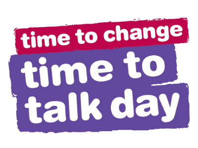 Time To Talk Day for Time To Change Campaign logo