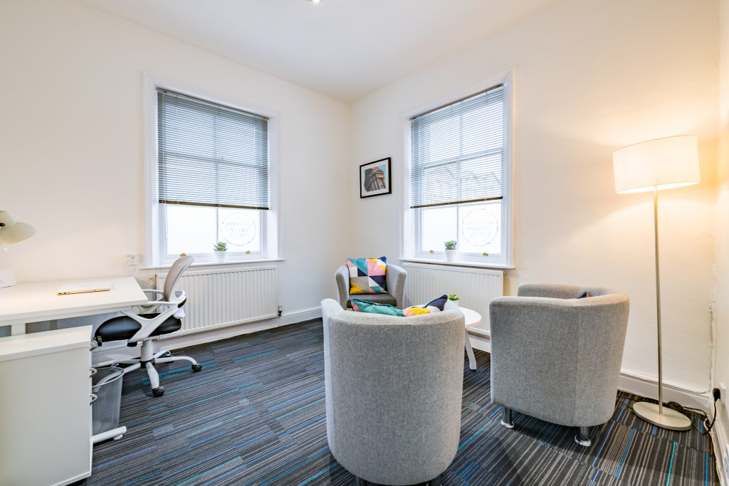 Counsellors Room 4 at Victoria Therapy Centre in Shipley